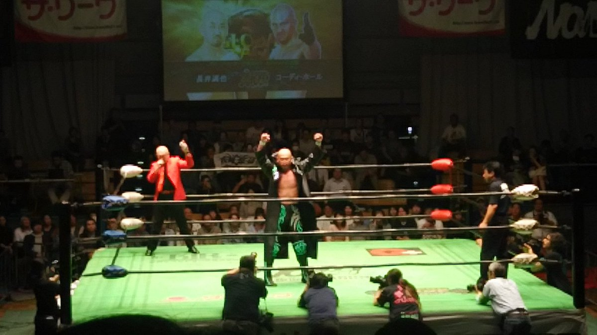 Tbh I expected Mitsuya Nagai appeared in the gear of MAKAI-CLUB style but...not bad!#noah_ghc <br>http://pic.twitter.com/styDpN1vQM