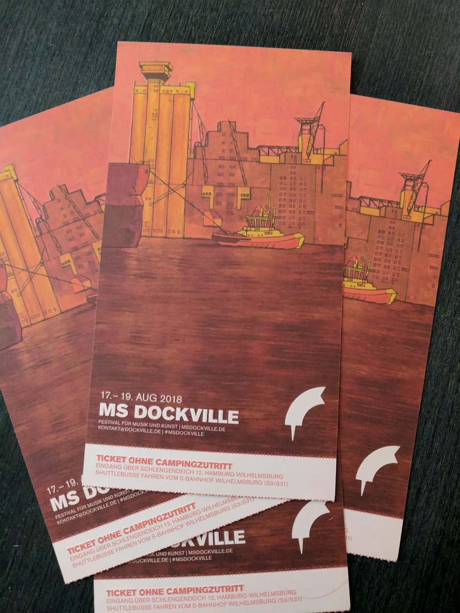 Ms dockville tagesticket 2018