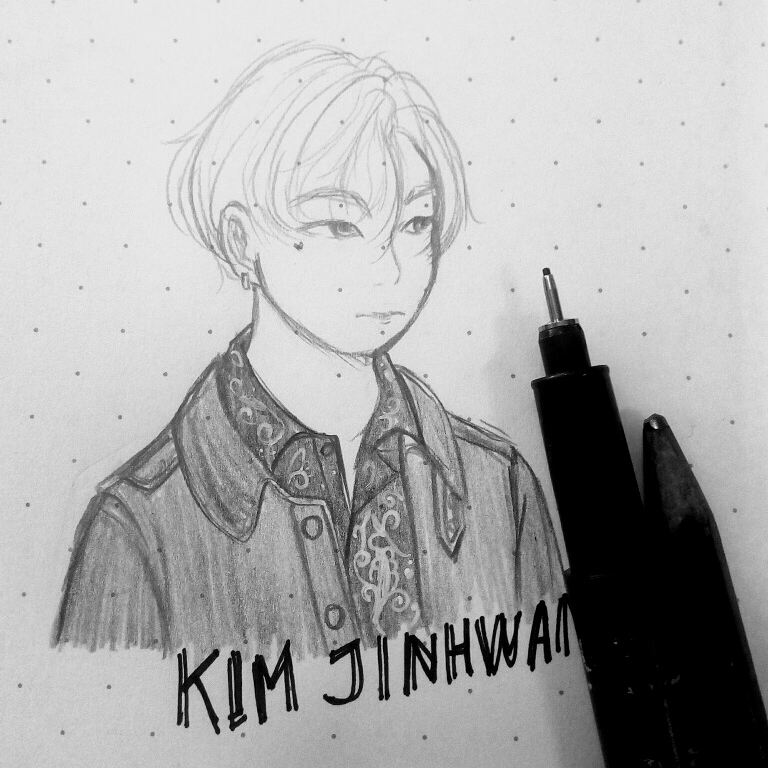 Jinana!!  Fansite photo cr @kimjinhwan_kr thank you!   #진환 #김진환 #아이콘 #iKONfanart #iKON #Jinhwan #Fanart #ikonic #kpopfanart #jinhwanikon<br>http://pic.twitter.com/KeiL4RAwnz