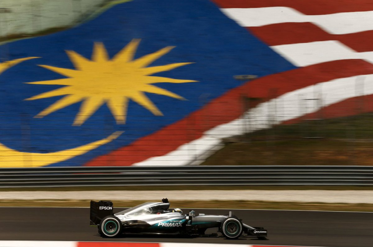 Are you ready for an action-packed @F1 race week? The @MercedesAMGF1 team is gearing up for #MalaysianGP—who will take the podium Sunday? <br>http://pic.twitter.com/AWHxYtUiYo