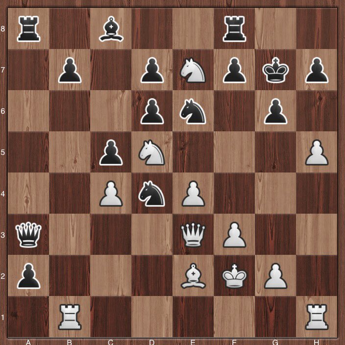 well, I will call you a genius if you calculate everything till the end :) #c24live #chess #tactics <br>http://pic.twitter.com/NZSziDccVR