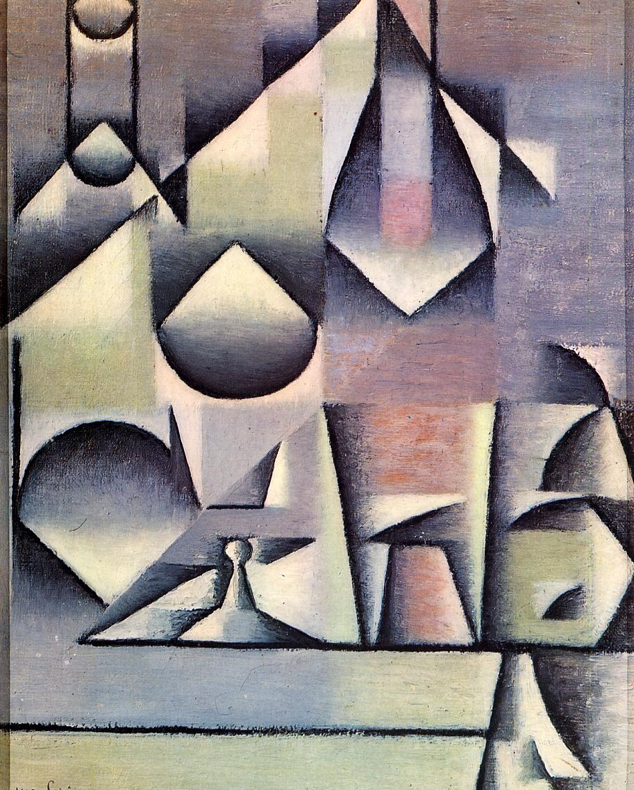 JUAN GRIS Bottle and Pitcher (1912)  https://www. almost-there.co.uk/unknown-pleasu res-december &nbsp; …  #art #Cubism #AlmostThere <br>http://pic.twitter.com/cJUsGbpO7J
