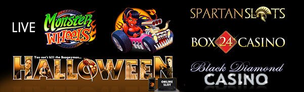 #Monster Wheels&#39; &amp; &#39;# Halloween&#39; are available at  http:// Casinoslotsmoney.eu  &nbsp;    Both #games are from Microgaming. #Saturdaymorning #Bitcoin #BTC <br>http://pic.twitter.com/TTKta9xvxT