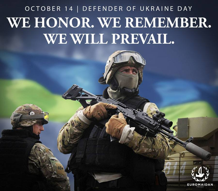 Thank you to all the defenders of Ukraine who protect our freedom!  #DefenderOfUkraine Day