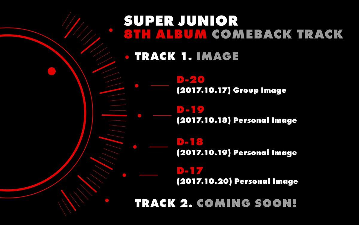 #SUPERJUNIOR 8TH ALBUM COMEBACK TRACK