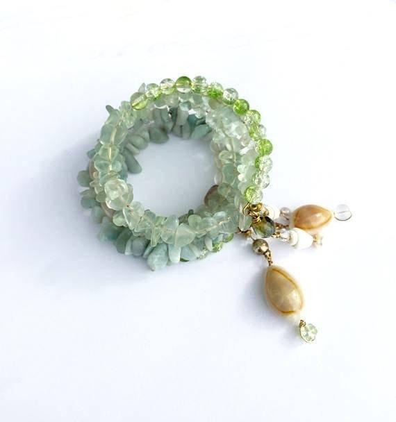 #kisteam #EtsyTeamUNITY  https://www. etsy.com/listing/257312 331/mint-green-beach-bracelet-amazonite-and?ref=shop_home_active_38 &nbsp; …  #bracelet #mint memory wire with amazonite and fluorite and sea shells #beach #jewelry<br>http://pic.twitter.com/hmz3JdIfAX