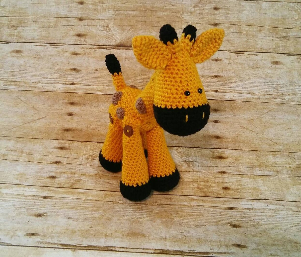 Baby Giraffe - Amigurumi Pattern - Delicious Crochet | 1024x1200