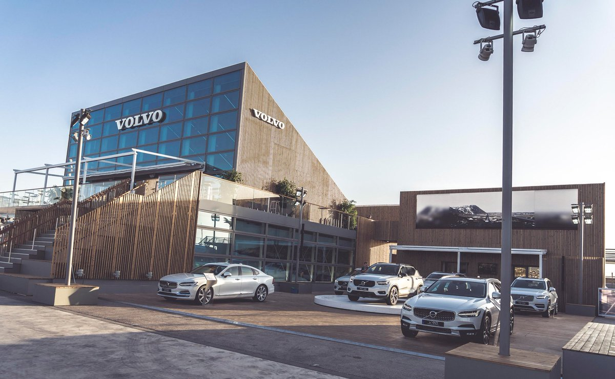 """Volvo Cars on Twitter: """"The #VolvoOceanRace village in Alicante has now opened, where the new # ..."""