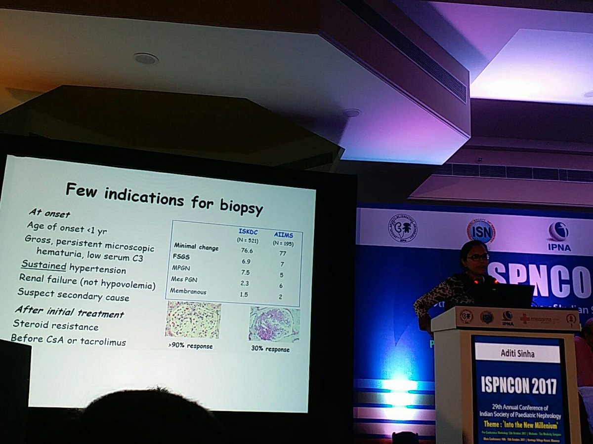 #ispncon2017 Dr Arvind Bagga on STEROID Resistant NS. Are there any circulating factors? <br>http://pic.twitter.com/AwOyXjMGUI