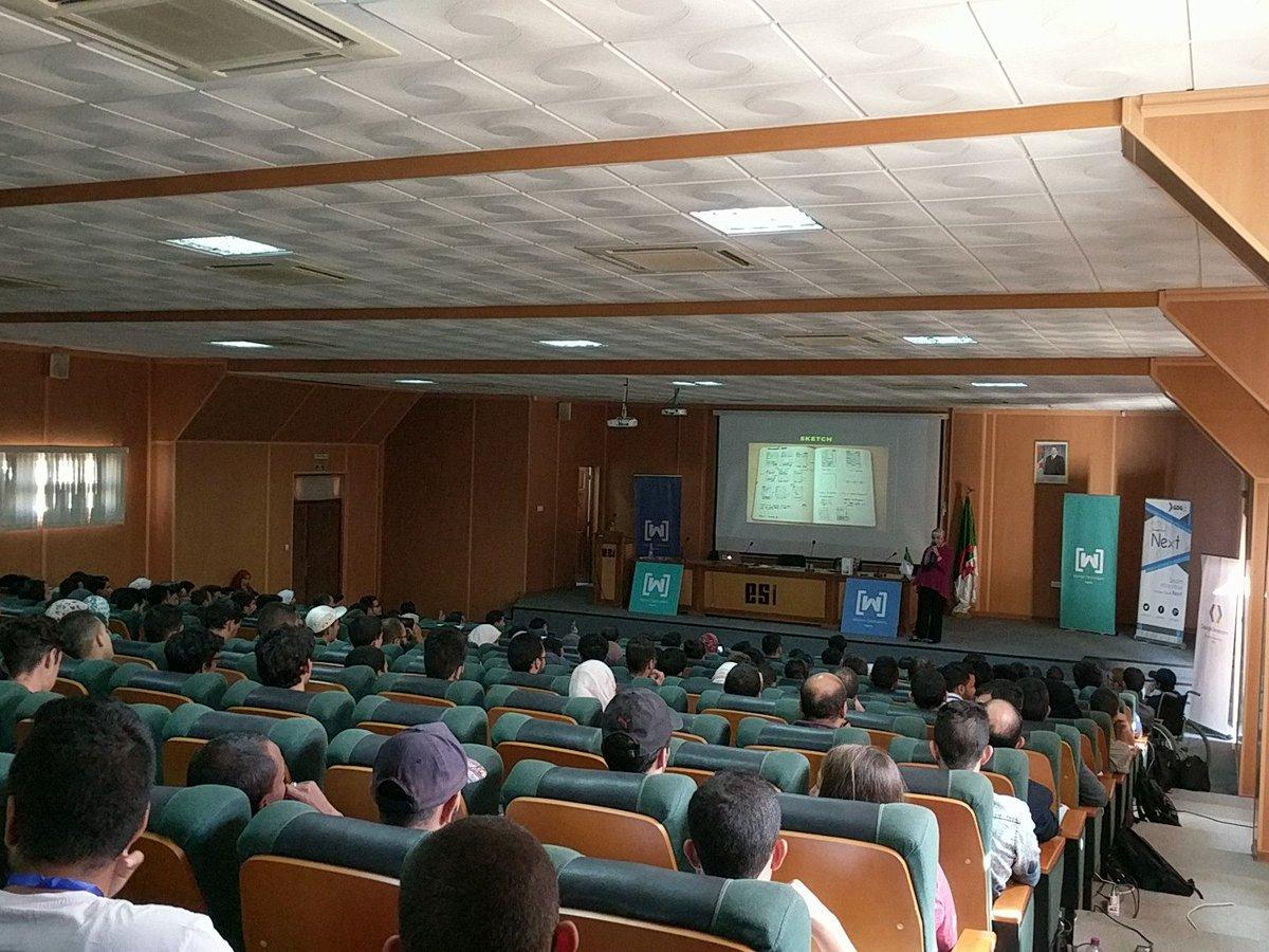 #GDRMENA @RayanZahab doing her workshop #ALGERIE <br>http://pic.twitter.com/aCO5xI5TBA