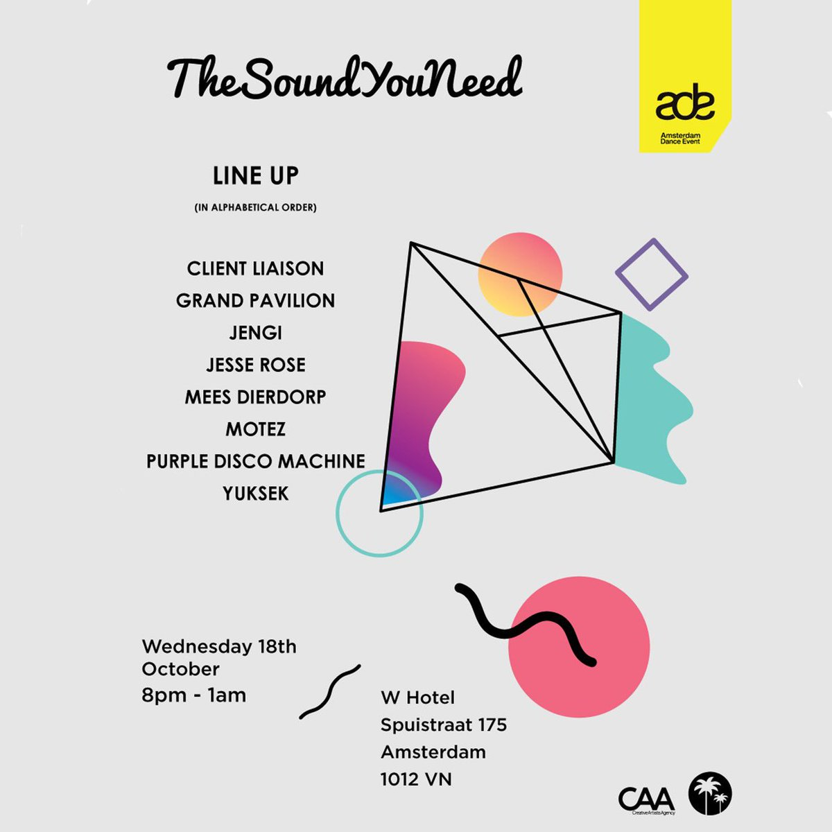 Catch us at @ADE_NL on Wednesday w/ @yuksek, @GrandPavilionAU, @motez_music + more! 🙌🏻   Get on the free guest list: https://t.co/SttXamIcnE https://t.co/6xgSCrddP5