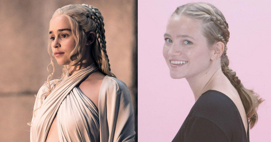 Channel Daenerys with This 'Game of Thrones' Braided Ponytail https://t.co/4WnD49NZAq
