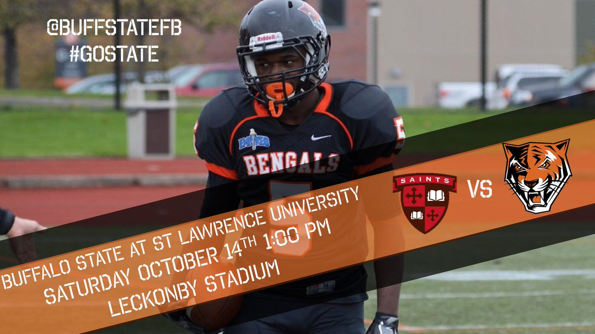 """buffalo state fb on twitter: """"gameday in northern new york as we"""