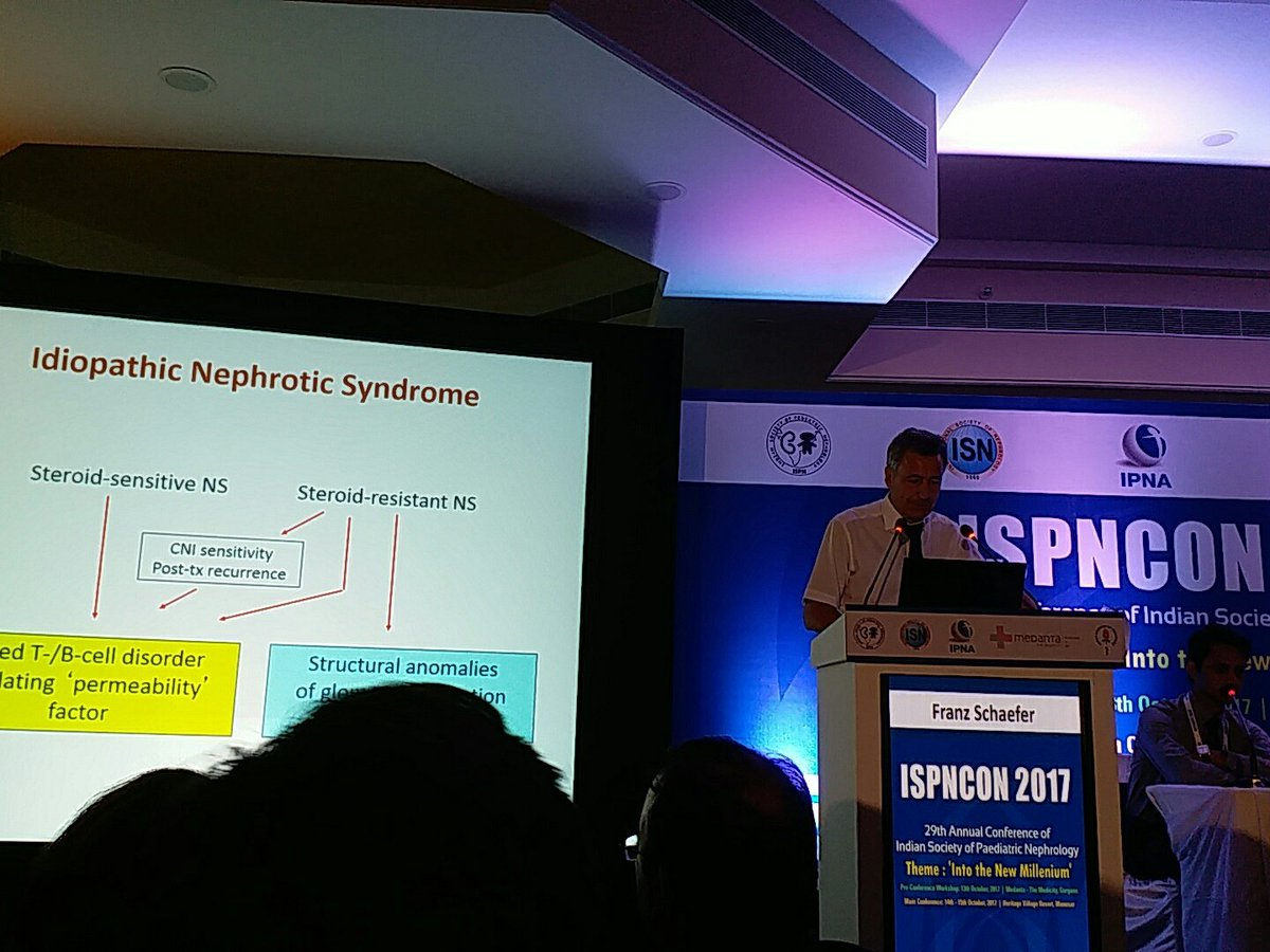 #ispncon2017 Franz Schaefer on mgmt of recurrent post-transplant FSGS <br>http://pic.twitter.com/c1RDQxW2Up