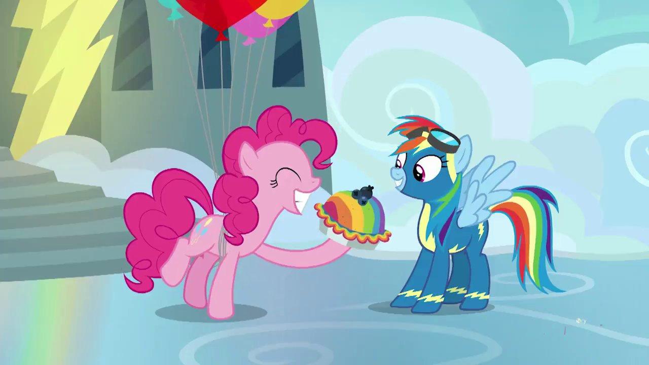 "my little pony wiki on twitter ""pinkie pie loves baking"