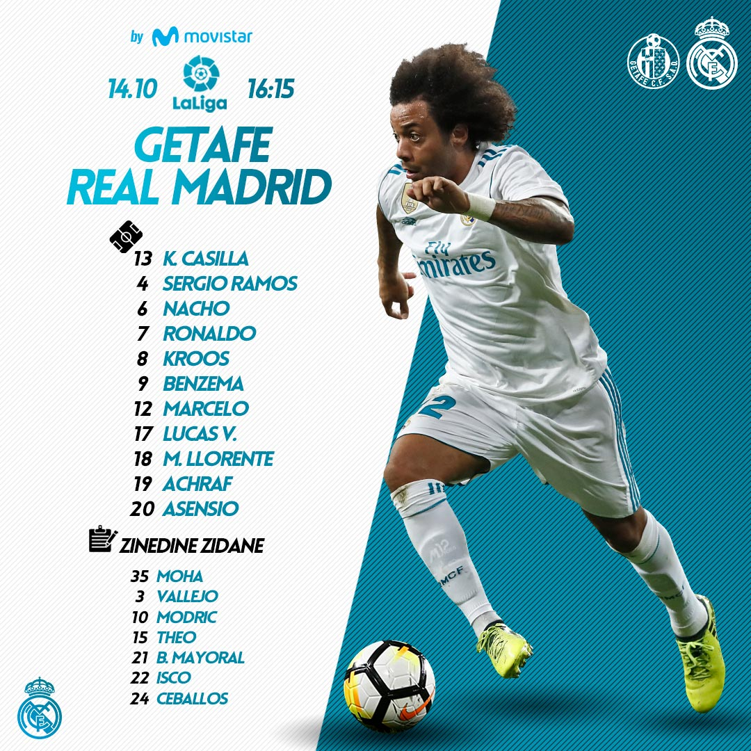 La liga: Getafe vs Real Madrid DMGZ-HOW0AYIYs9