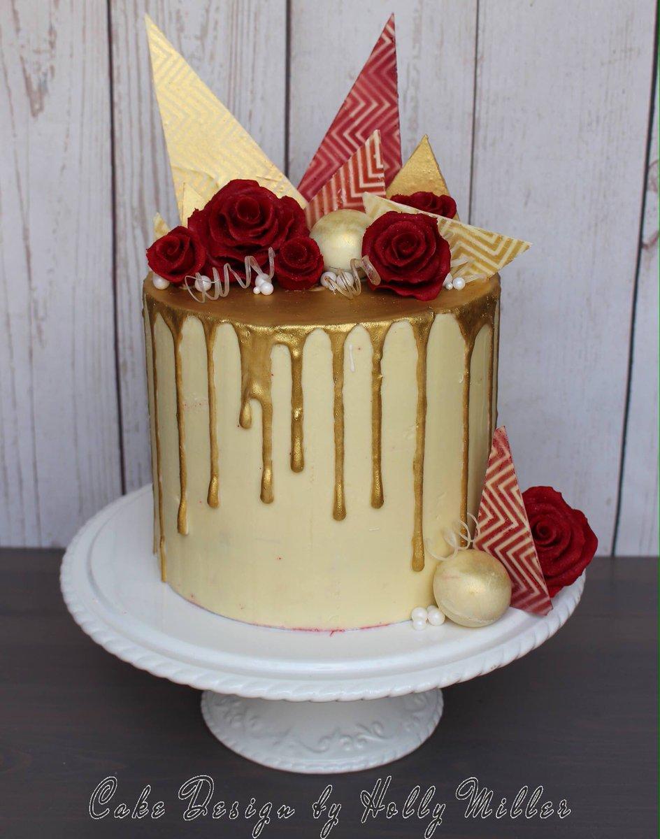 Cake Design By Holly Miller On Twitter A Redvelvet Cake With