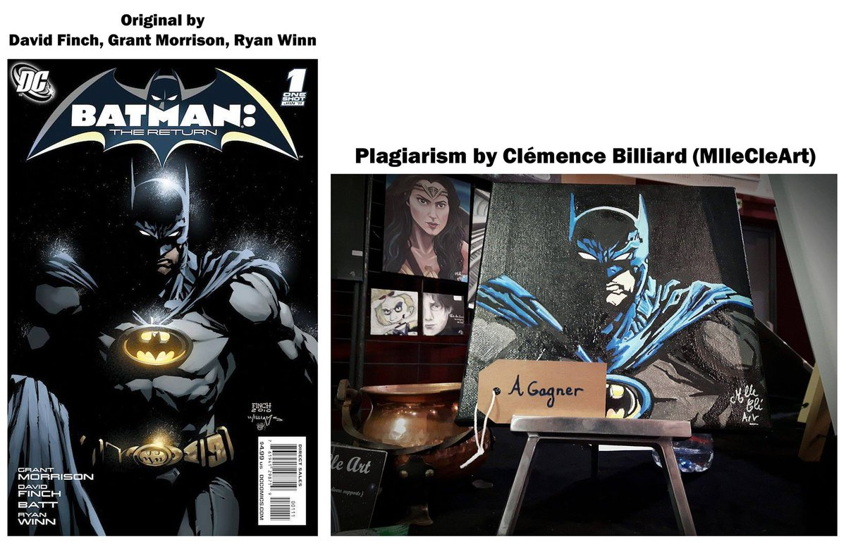 @grantmorrison , @ryanwinn , @finchmeredith1 , this person is using your work without permission in France !  #plagiarism #comics<br>http://pic.twitter.com/a9ovx0dfmU