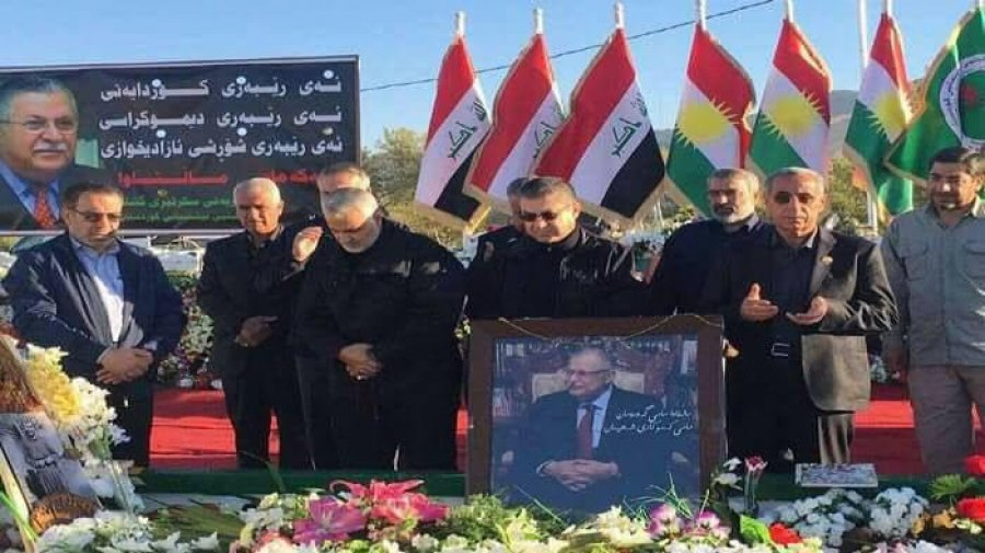 Commander of #Iranian #Quds Brigade Visits #Talabani's Tomb - #BasNews https://t.co/kaYjpGvEZ7