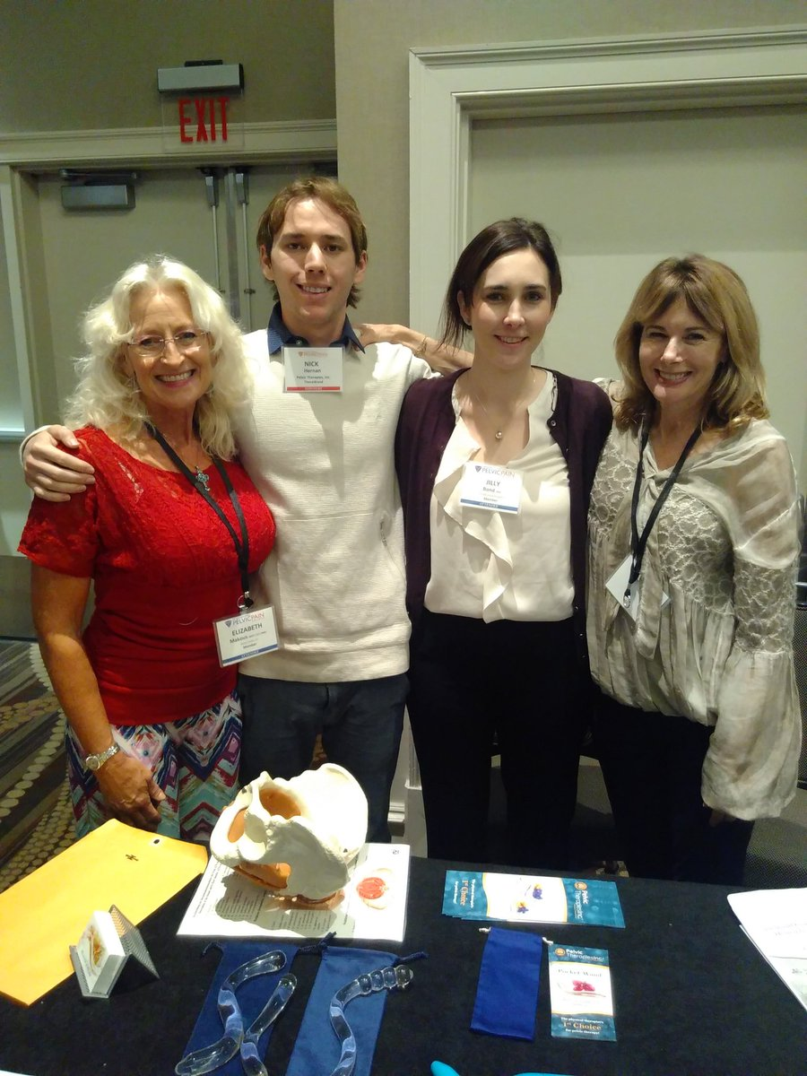 Great to finally meet the #PelviWand #TheraWand team! Some really exciting prototypes coming... Watch this space #PelvicMafia #WCAPP17 <br>http://pic.twitter.com/frQ1WuLSyJ