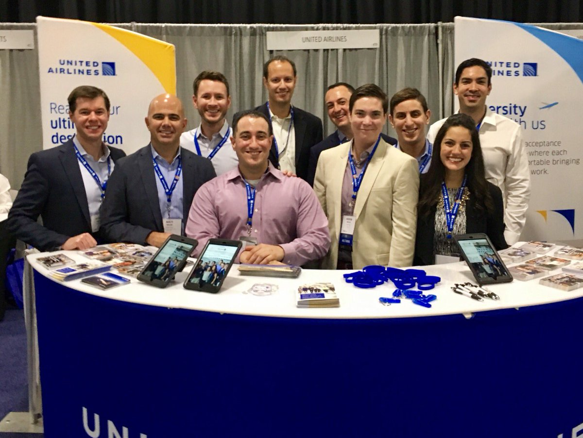 Recruiting some amazing students at #romba2017 with the United team. @ReachingOutMBA @EQUAL_PR @weareunited