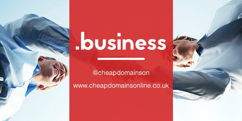 Don&#39;t lose out in #Business. A .business #domain at #Cheap #Domains #Online creates avenues  http:// goo.gl/zw67Gq  &nbsp;  <br>http://pic.twitter.com/iPmModt6EW