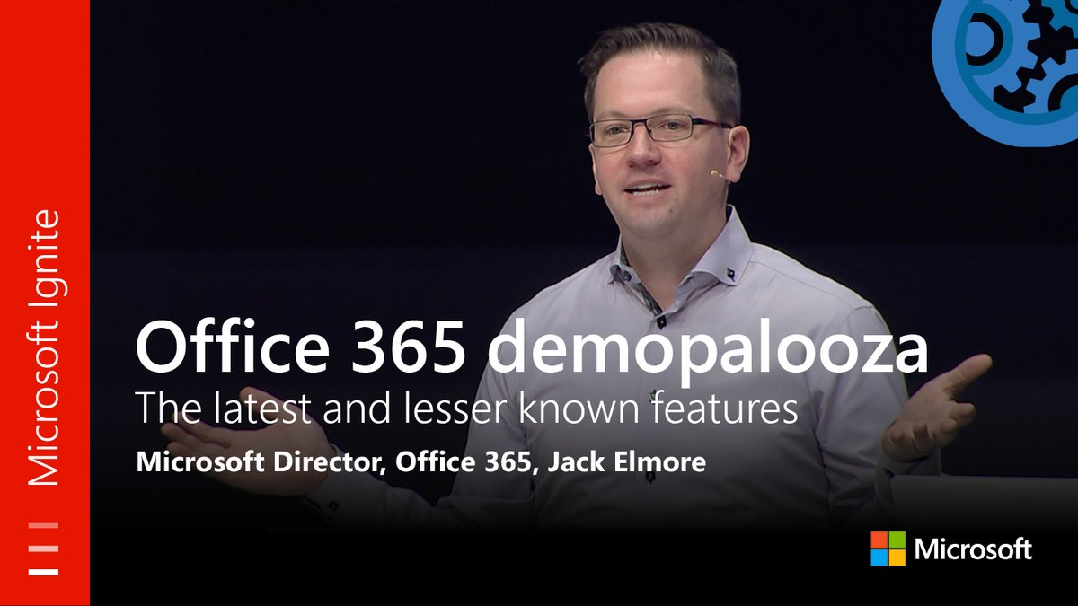 From #MSIgnite: #Office365 demopalooza of the latest and lesser known features. Watch the full session here:  http:// youtu.be/B4Kmk5XJGlo  &nbsp;  <br>http://pic.twitter.com/tUYIt88YJb