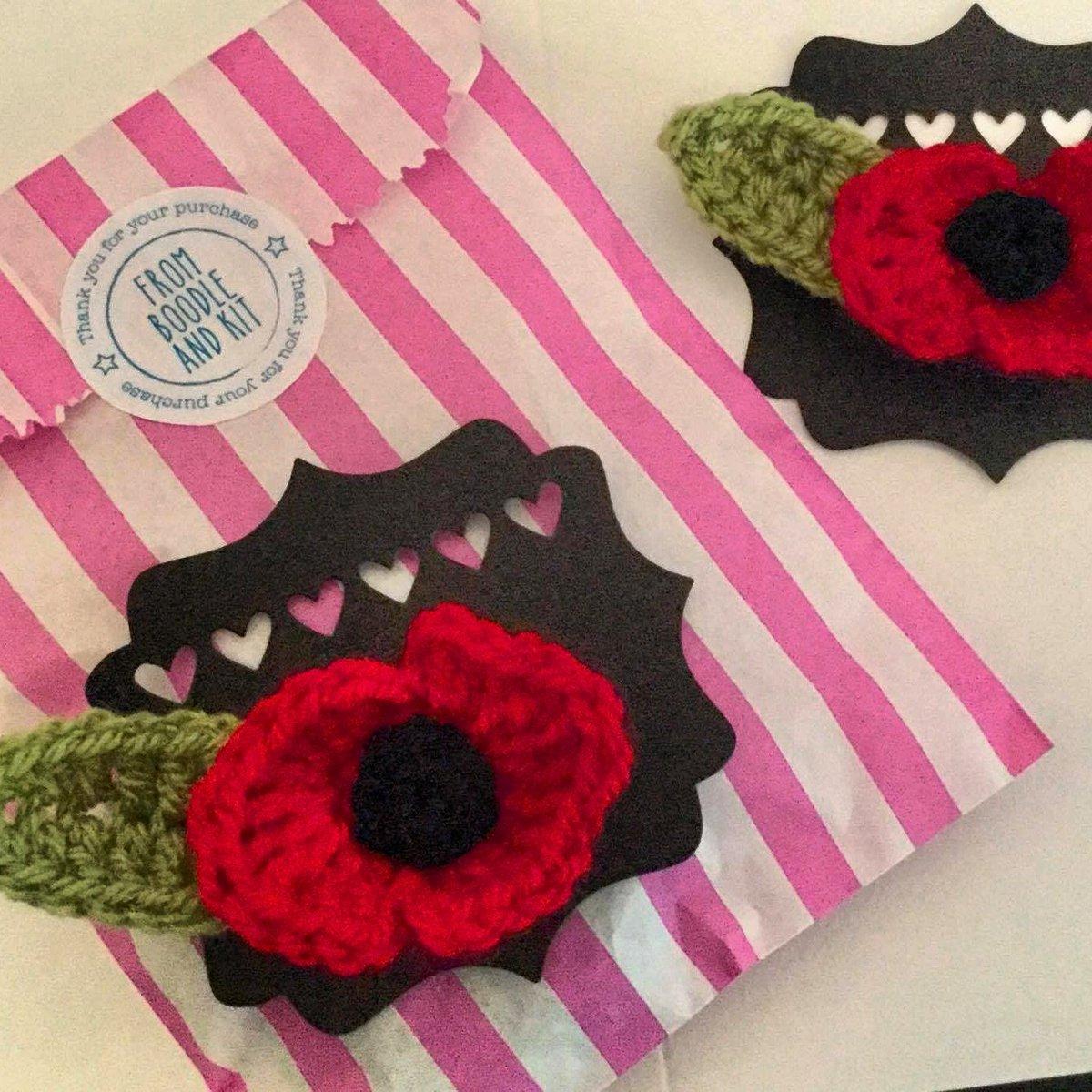 Beautiful handmade crochet poppies available at  http://www. etsy.com/uk/shop/boodle andkit &nbsp; …  #remembranceday #poppyappeal #poppies #crochet #handmade #ukbiz <br>http://pic.twitter.com/G2U9GNIvAy