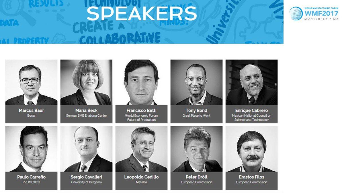 "#WMF2017 November 7-9, 2017 ""Towards a #DigitalMarket &amp; Connected #Mfg Ecosystems"" Distinguished Speakers:  http:// WorldManufacturingfForum.org/speakers  &nbsp;   <br>http://pic.twitter.com/Gvj7IrrEkm"