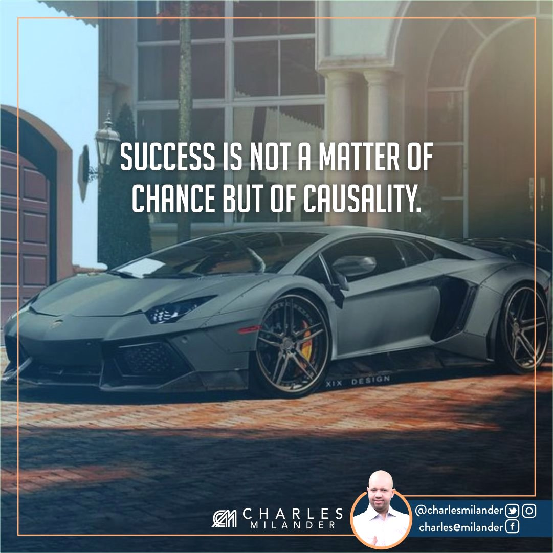 Success is not a matter of chance but of causality. #working #startup #money #magazine #moneymaker #startuplife #successful #passion #hardwo<br>http://pic.twitter.com/GHjYrv5UVe
