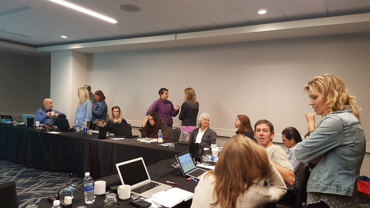 #HAPS #Leadership taking a break during our midyear meeting. Prepping for #HAPS2018 ... getting excited!<br>http://pic.twitter.com/aXffZhBQ7H &ndash; à Greater Columbus Convention Center