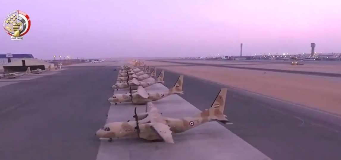 مصر تتسلم آخر 3 طائرات نقل تكتيكي C295s هذا العام وذلك من أصل  إجمالي 24 طائرة  DMH9OqGXUAA580V