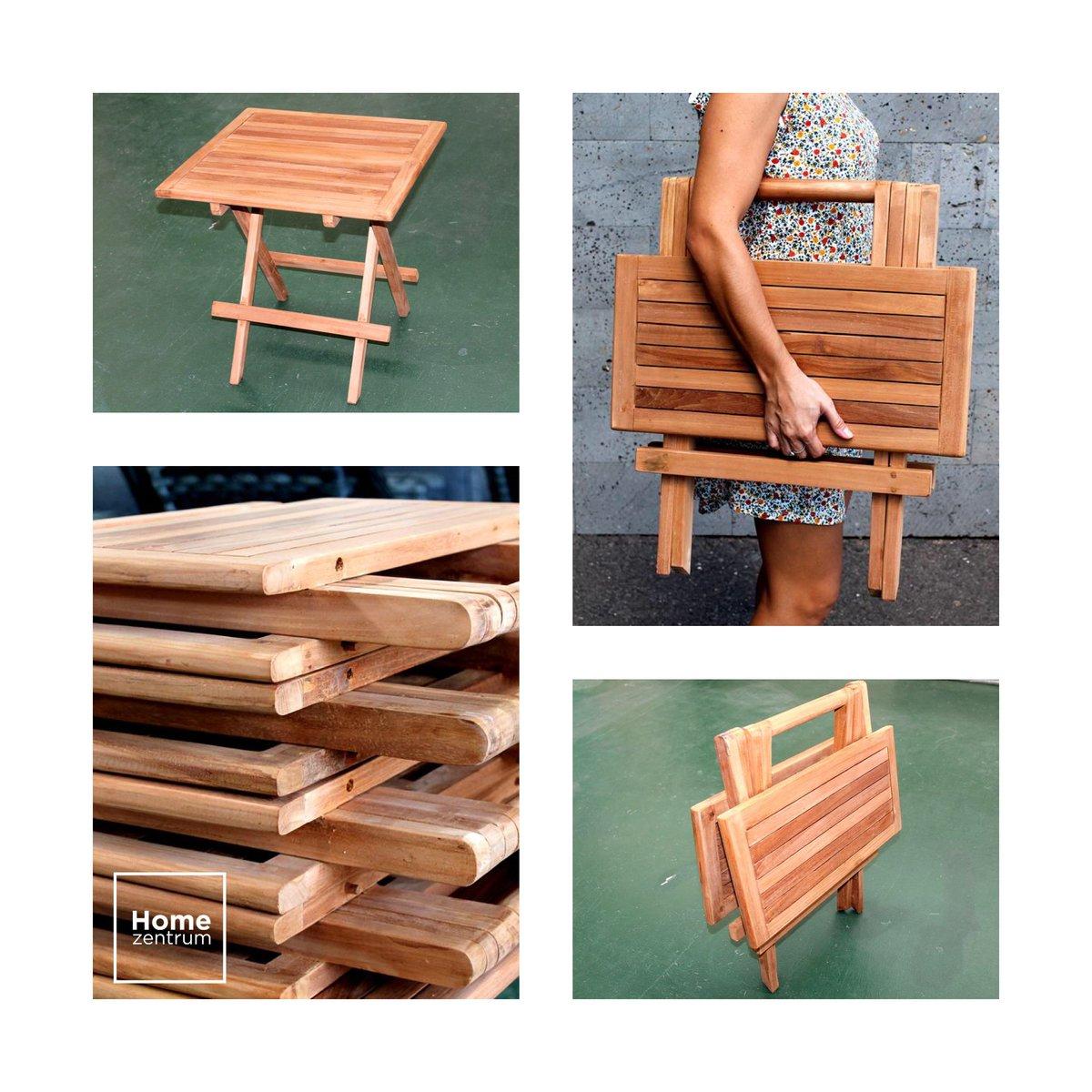 ¿A handbag or a table? Folding teak table, to take it wherever you go.  http:// bit.ly/2z8P35W  &nbsp;    #interiorismo #designdeinteriores #picnic<br>http://pic.twitter.com/Kl1uYlebi2