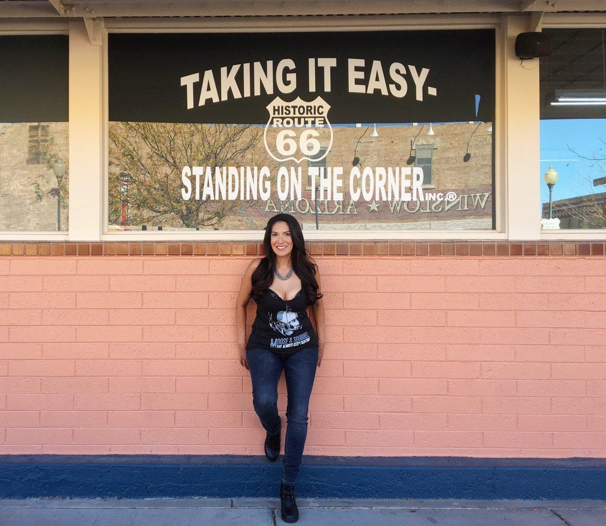 takeiteasy eagles winslow arizona roadtrippic twitter com z31ynqmzsa