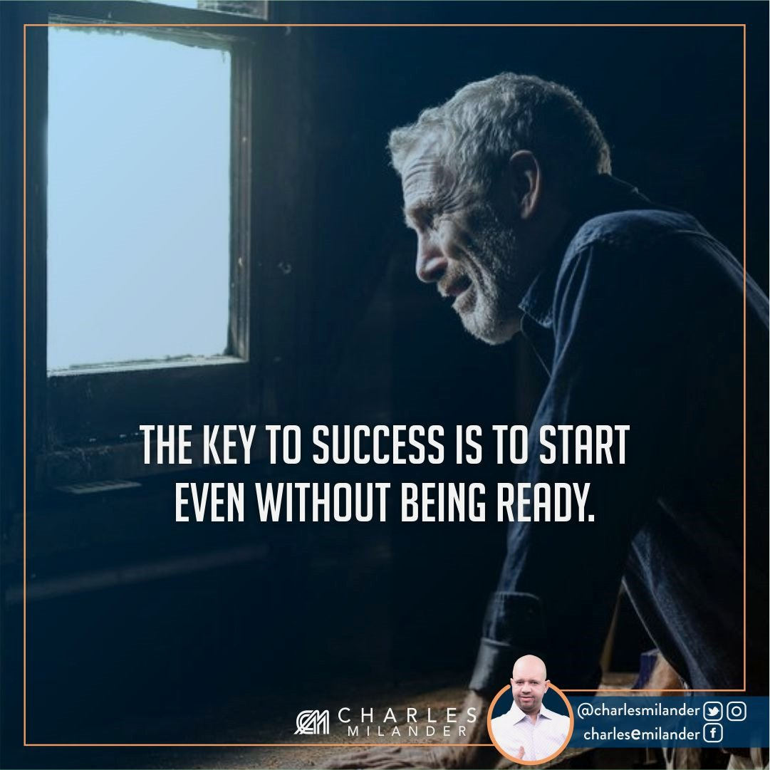 the key to success is to start even without being ready. #working #startup #money #magazine #moneymaker #startuplife #successful #passion #h <br>http://pic.twitter.com/ecAy2XdyuM