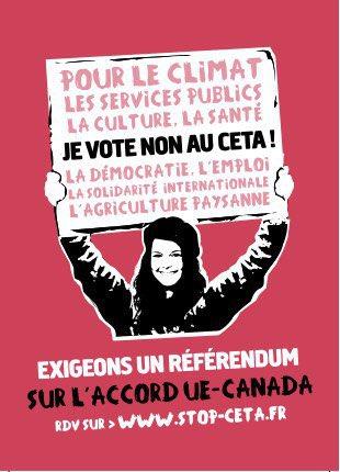 On a passé la barre des 4000 personnes sur Stop-CETA.fr à avoir exigé un #ReferendumCETA. Dépêche-toi pour être dans les 5000 premiers! pic.twitter.com/RvwgBTiqwz