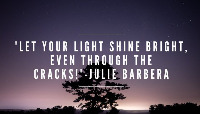LET YOUR #LIGHT #SHINE #BRIGHT, EVEN THROUGH THE #CRACKS  via @Inspireu2Action  #ThinkBIGSundayWithMarsha #InspireThemRetweetTuesday #IQRTG<br>http://pic.twitter.com/DiGmrLkwCx