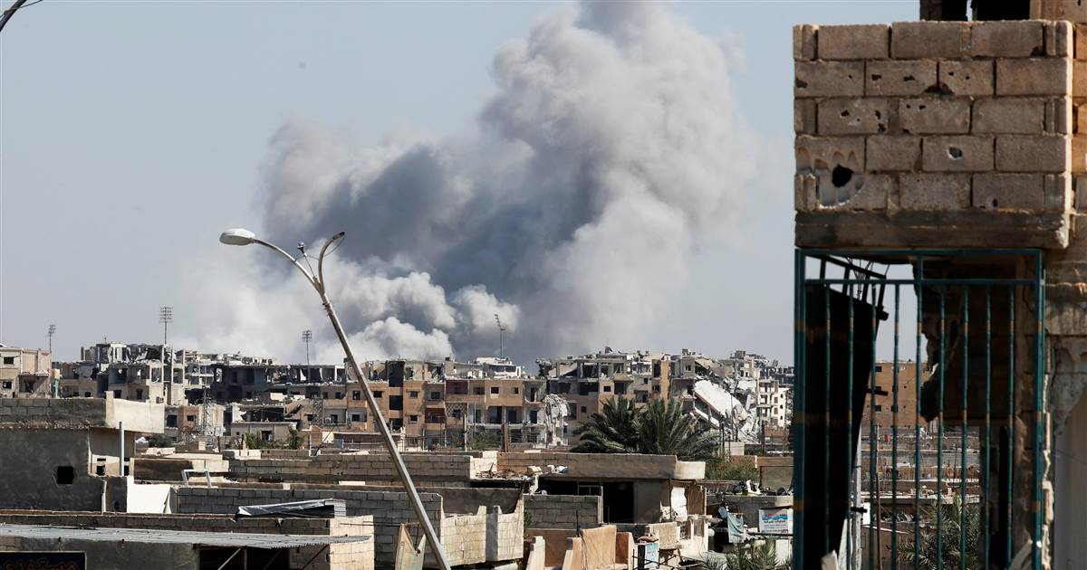 War on ISIS: Civilians to be evacuated from Raqqa, U.S.-led coalition says https://t.co/jQR9vdiVNn