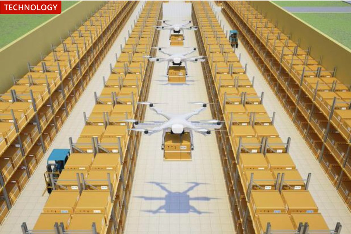 Using #drones #logistics warehouses to prevent inventory mismatches with #rfid    https:// youtu.be/fvPR09noiL8  &nbsp;   Read more:  http://www. digitaljournal.com/tech-and-scien ce/technology/using-drones-in-large-warehouses-to-prevent-inventory-mismatches/article/504812#ixzz4vVJQe7OR &nbsp; … <br>http://pic.twitter.com/5Cd7dHepI5