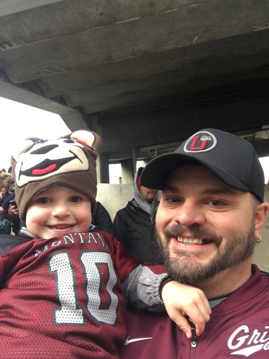 His first Griz Game #whereiroot https://...