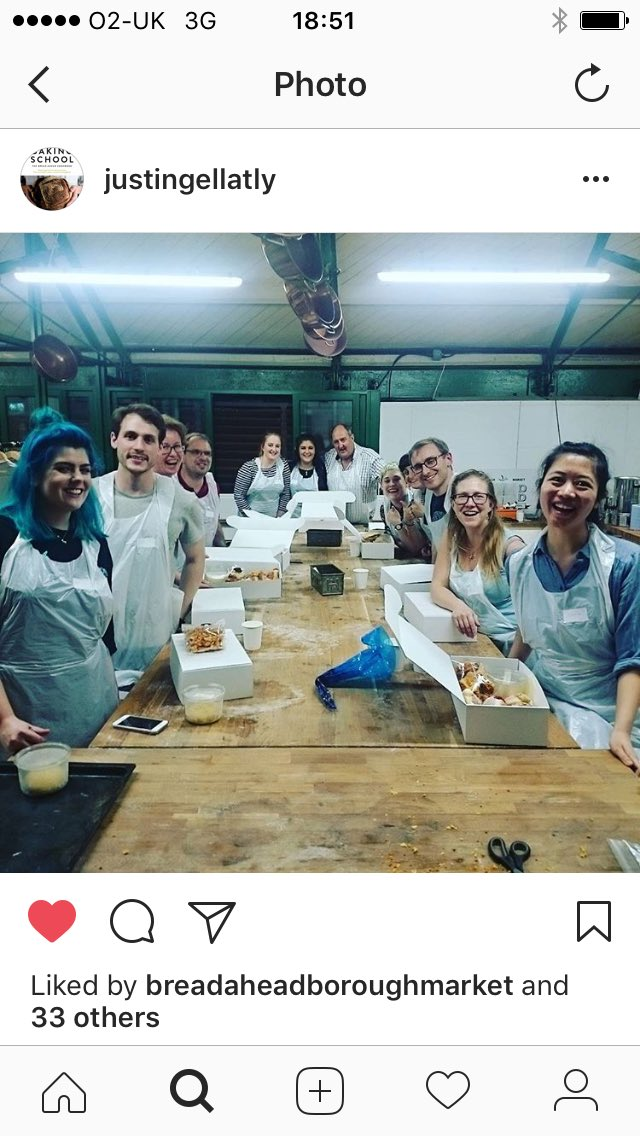 #double #doughnut #bakingclass today in @boroughmarket with @Justin_Gellatly &amp; @Mrs_Gellatly #pillowsofjoy #baking #education<br>http://pic.twitter.com/q8wvlSzxU2