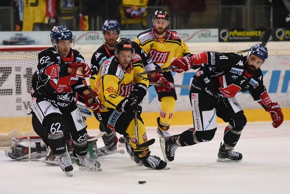 Eishockey, EBEL, Erste Bank Eishockey Liga, Vienna Capitals, HC Innsbruck, Innsbrucker Haie, Vienna Capitals vs. HC Innsbruck, #VICHCI