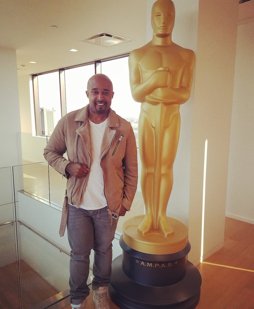 &quot;First I Would Like to Thank The Acadamy @theacademy&quot;...4 partnering w/me 2 #ChangeTheNarrative for our Career in Films Summit at The Oscars <br>http://pic.twitter.com/8zOsKCxZ03
