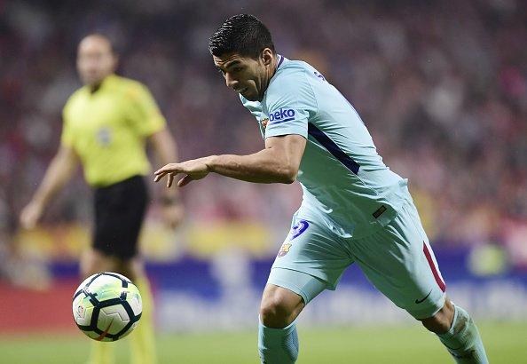 هدف برشلونة الأول في مرمى أتليتكو مدريد