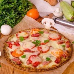 Пицца рецепт с грудинкой