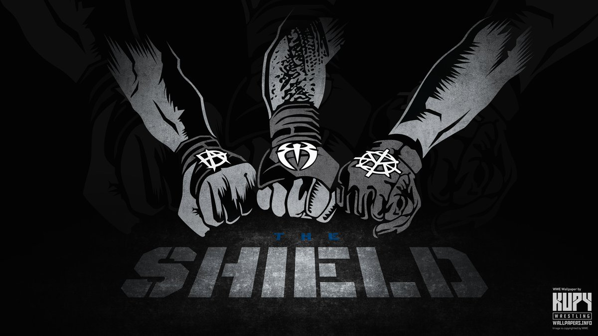 "seth rollins fans on twitter: ""the shield 2017 wallpaper from kupy"