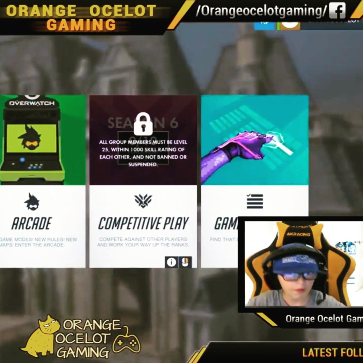 Its my first ever LIVE STREAM!  Watch here:  https:// youtu.be/gmyCuNhi-H0  &nbsp;    #overwatch #pcgaming #SupportSmallStreamers #overwatchhalloween (tmrw)<br>http://pic.twitter.com/AeAAJCtfWf