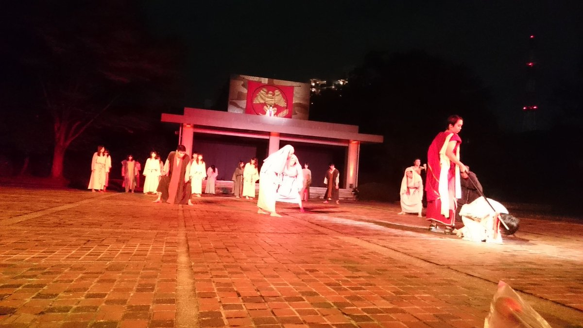 野外宗教劇 hashtag on Twitter