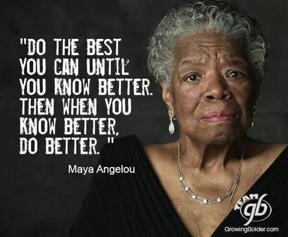 When you #know better and do the #best you can, you&#39;ll become the &quot;best version of yourself.&quot; #Transformation #ThinkBIGSundayWithMarsha<br>http://pic.twitter.com/oHvZY5Gyxr