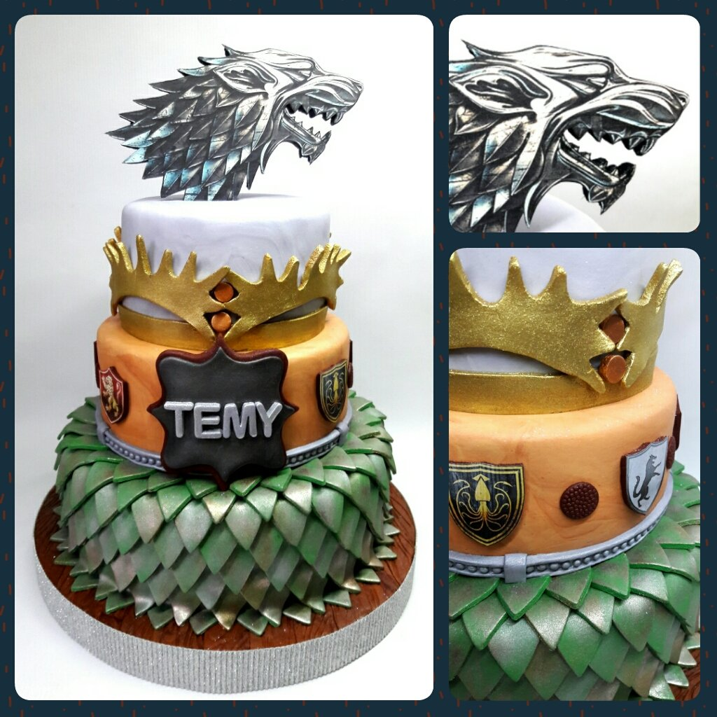 Dtalles On Twitter Cake Game Of Thrones Pritycakes